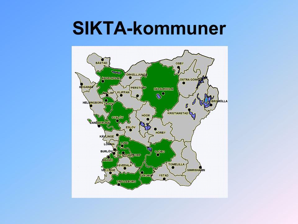 SIKTA-kommuner