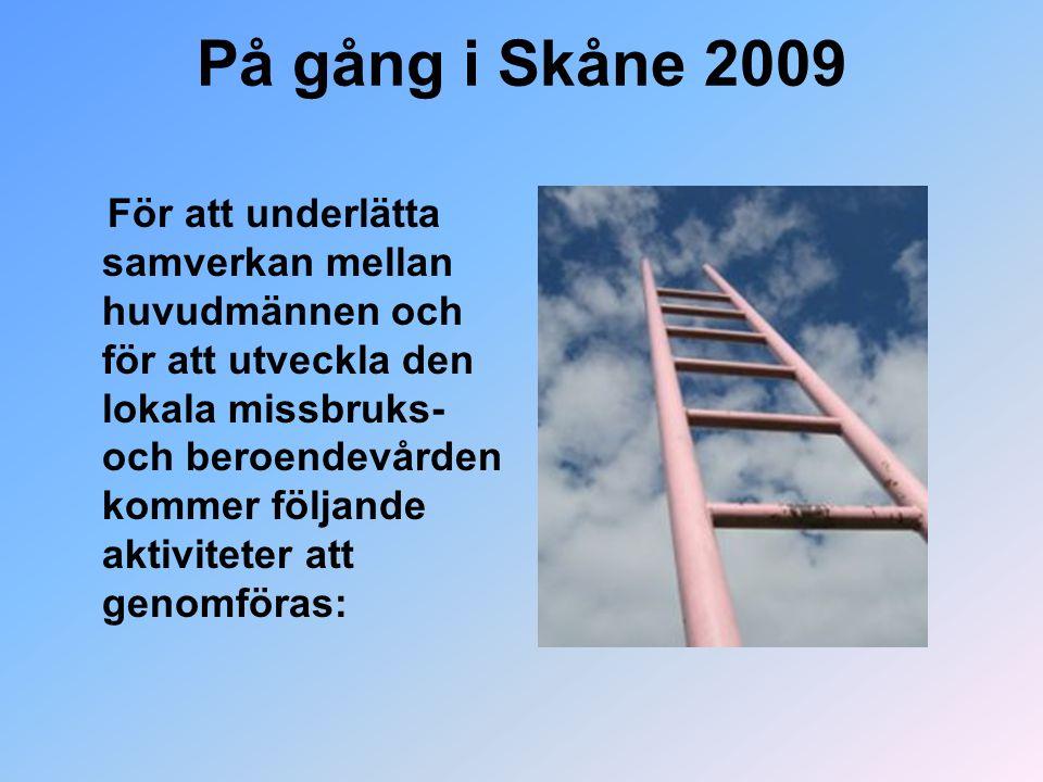 På gång i Skåne 2009