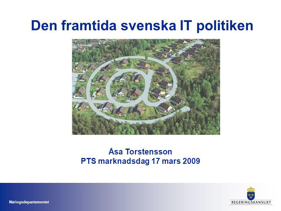 Den framtida svenska IT politiken