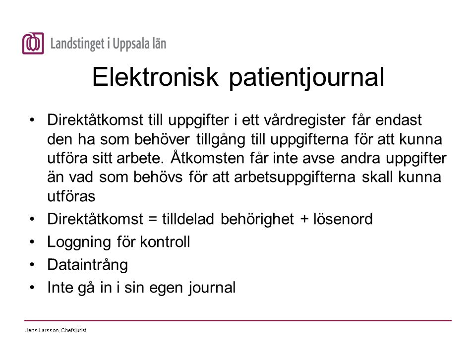 Elektronisk patientjournal