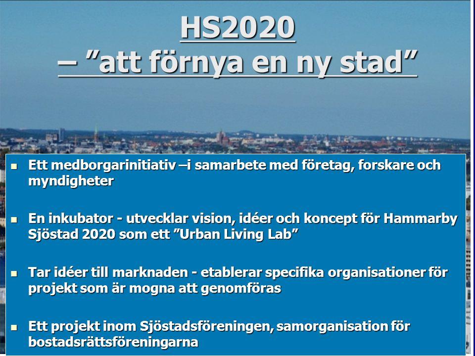 HS2020 – att förnya en ny stad