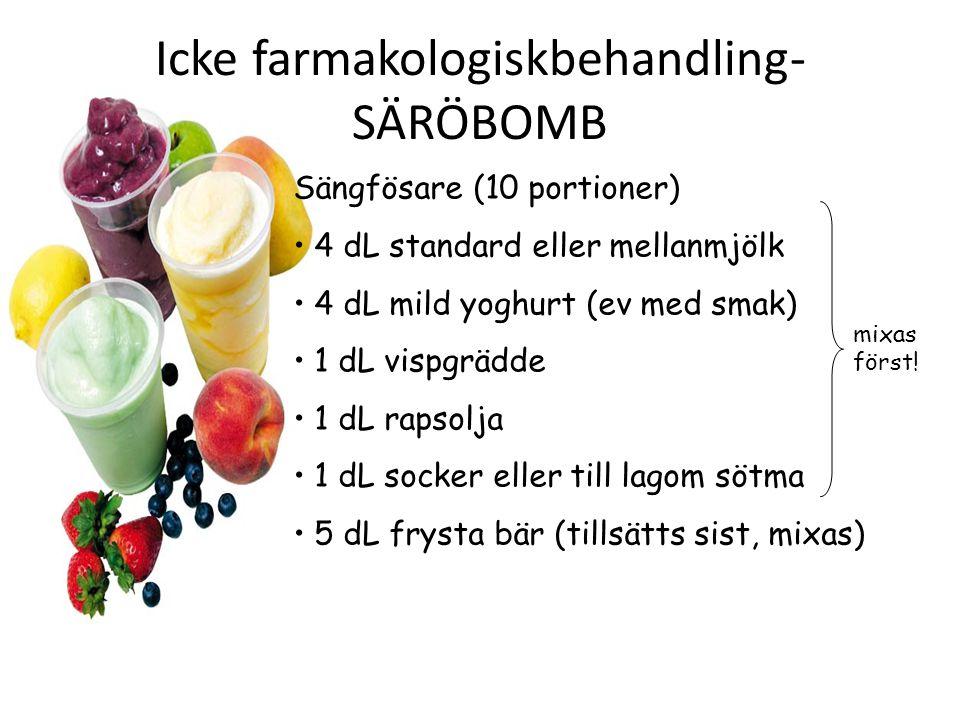 Icke farmakologiskbehandling-SÄRÖBOMB