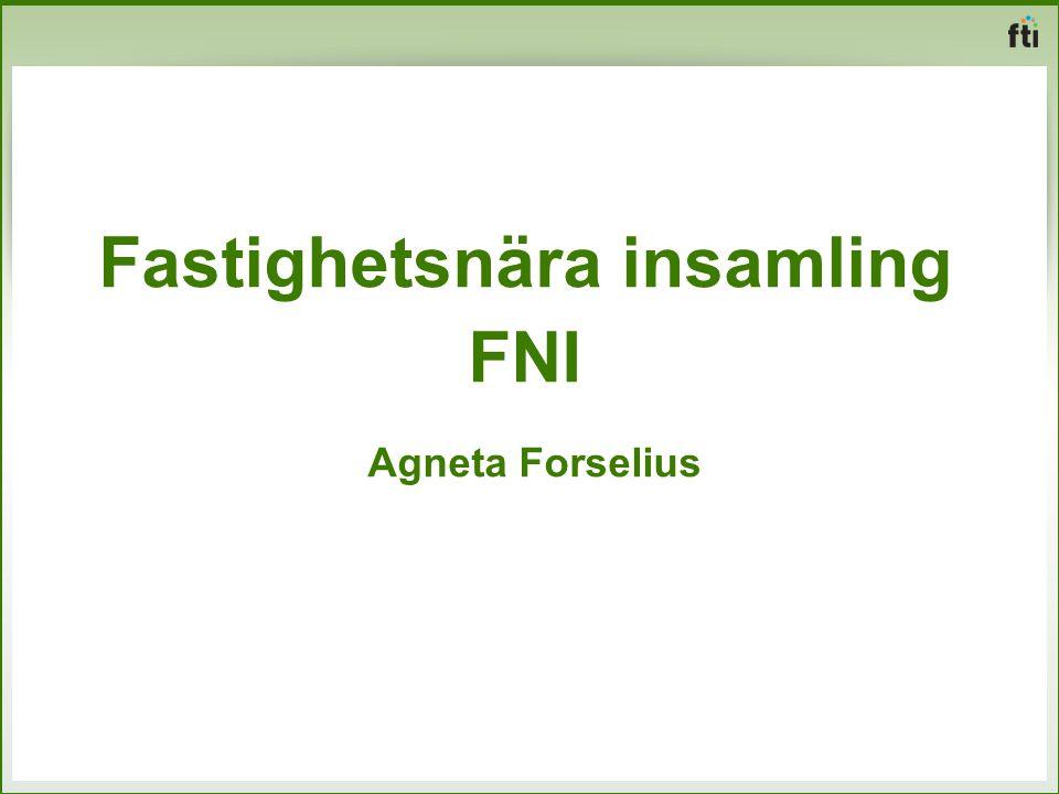 Fastighetsnära insamling FNI Agneta Forselius