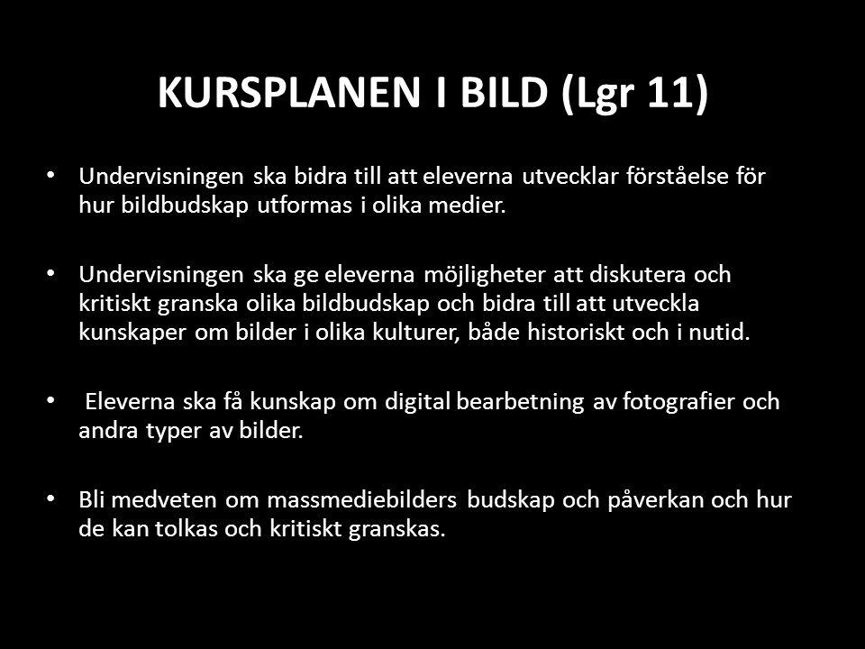 KURSPLANEN I BILD (Lgr 11)