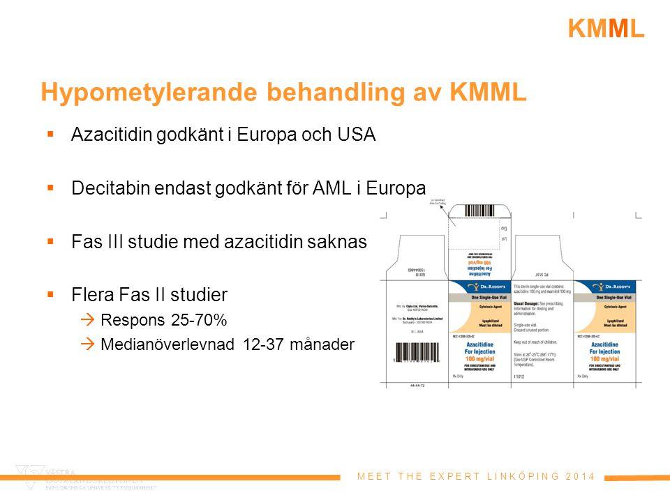Hypometylerande behandling av KMML