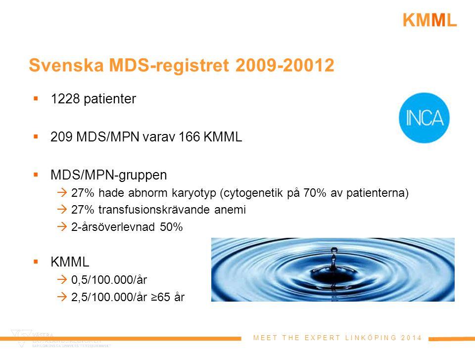 Svenska MDS-registret 2009-20012