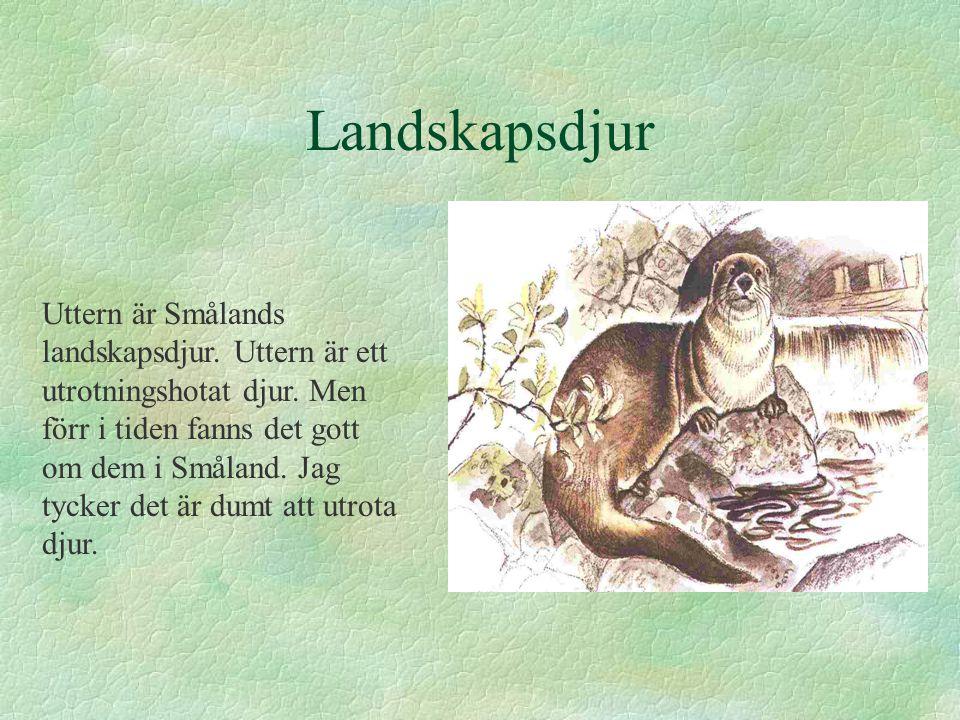 Landskapsdjur