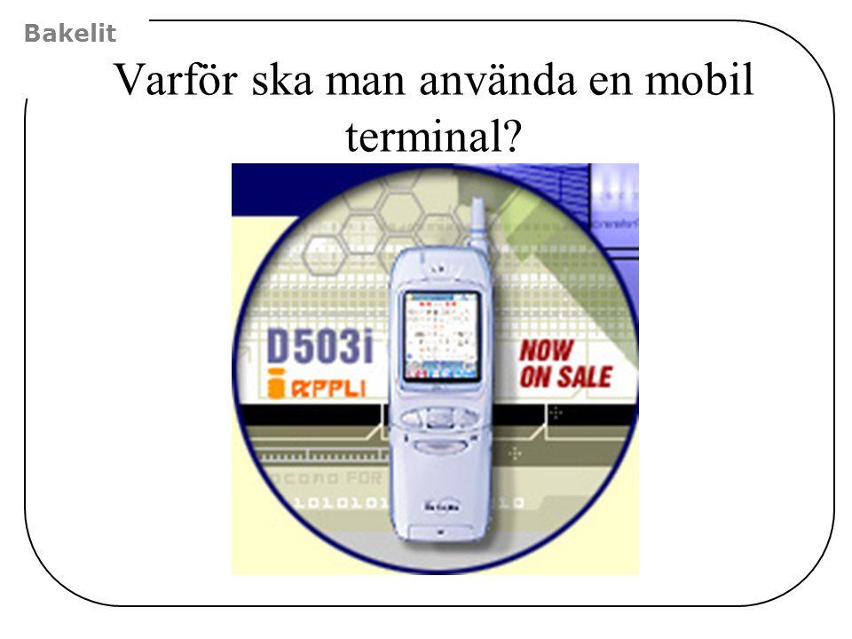 Varför ska man använda en mobil terminal