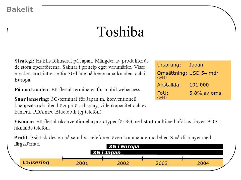 Bakelit Toshiba.