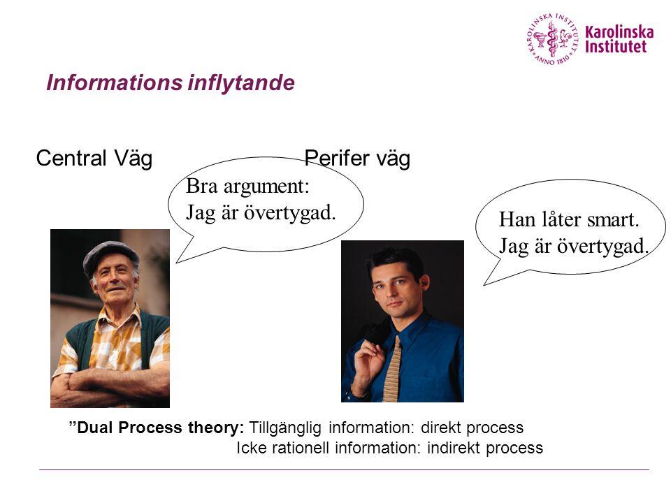 Informations inflytande