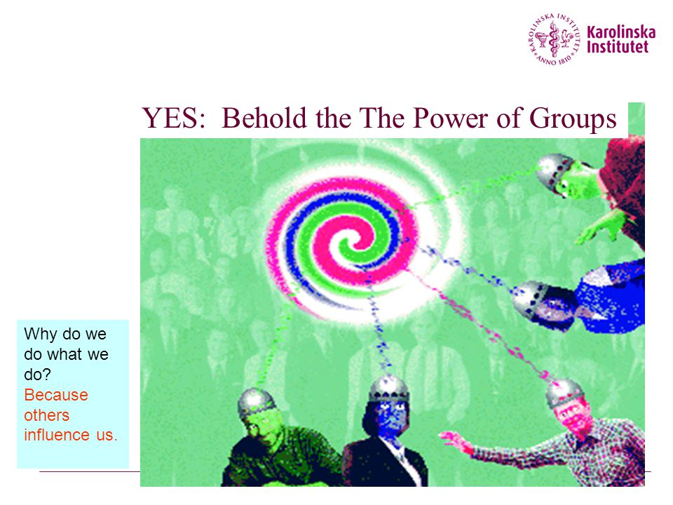 YES: Behold the The Power of Groups
