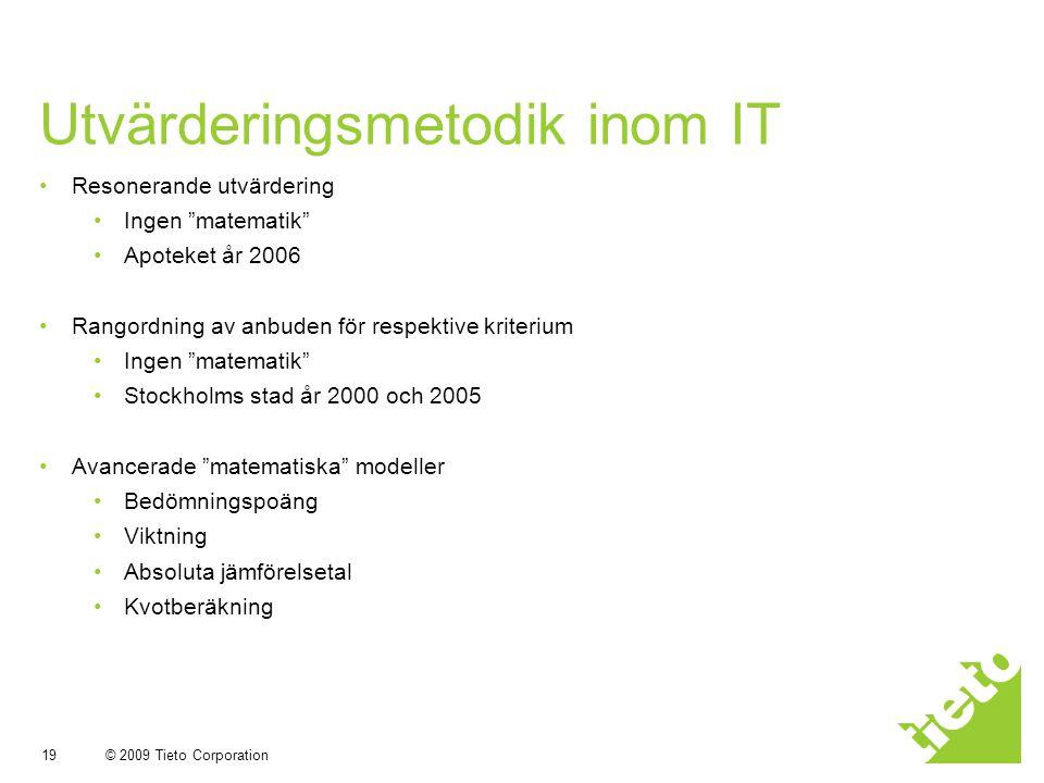 Utvärderingsmetodik inom IT