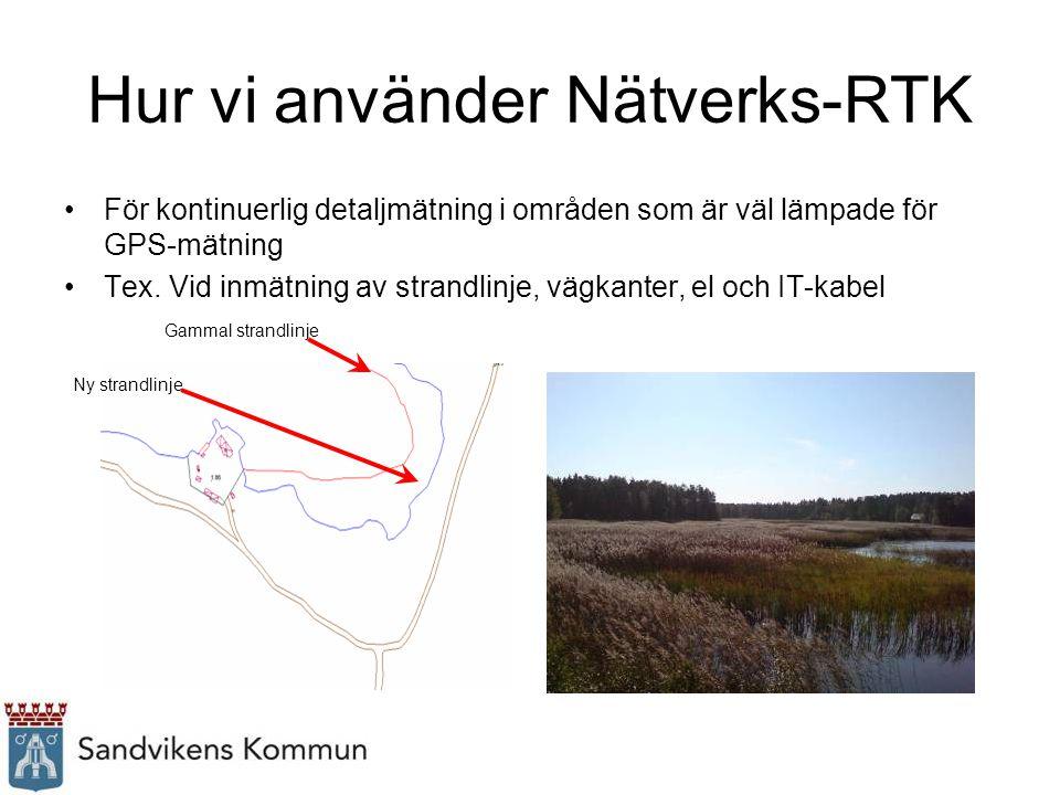 Hur vi använder Nätverks-RTK