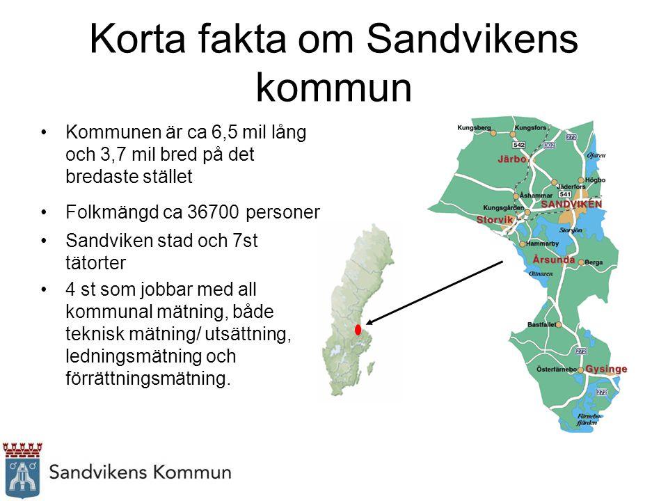 Korta fakta om Sandvikens kommun