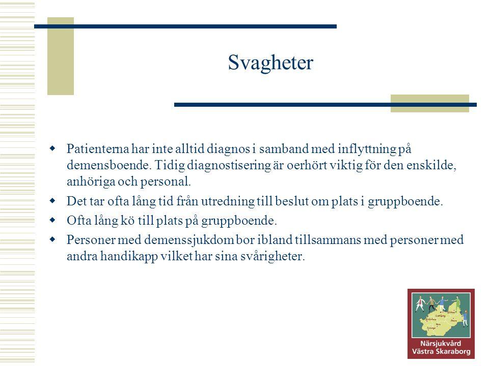 Svagheter