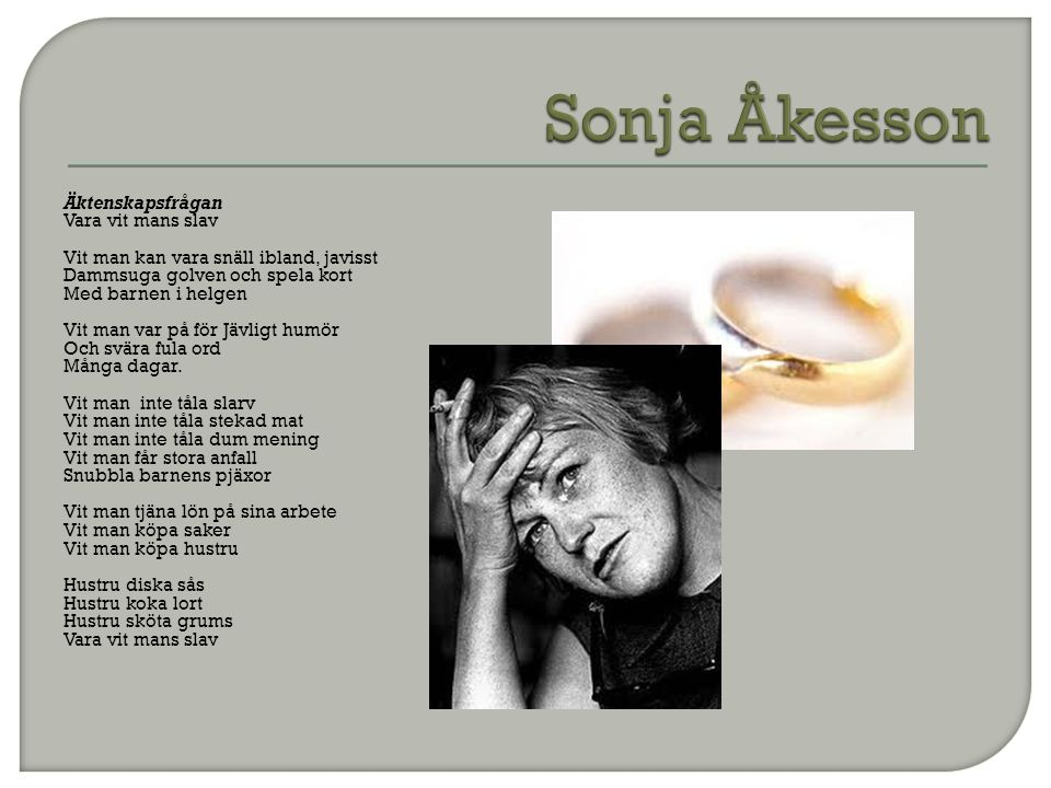 Sonja Åkesson
