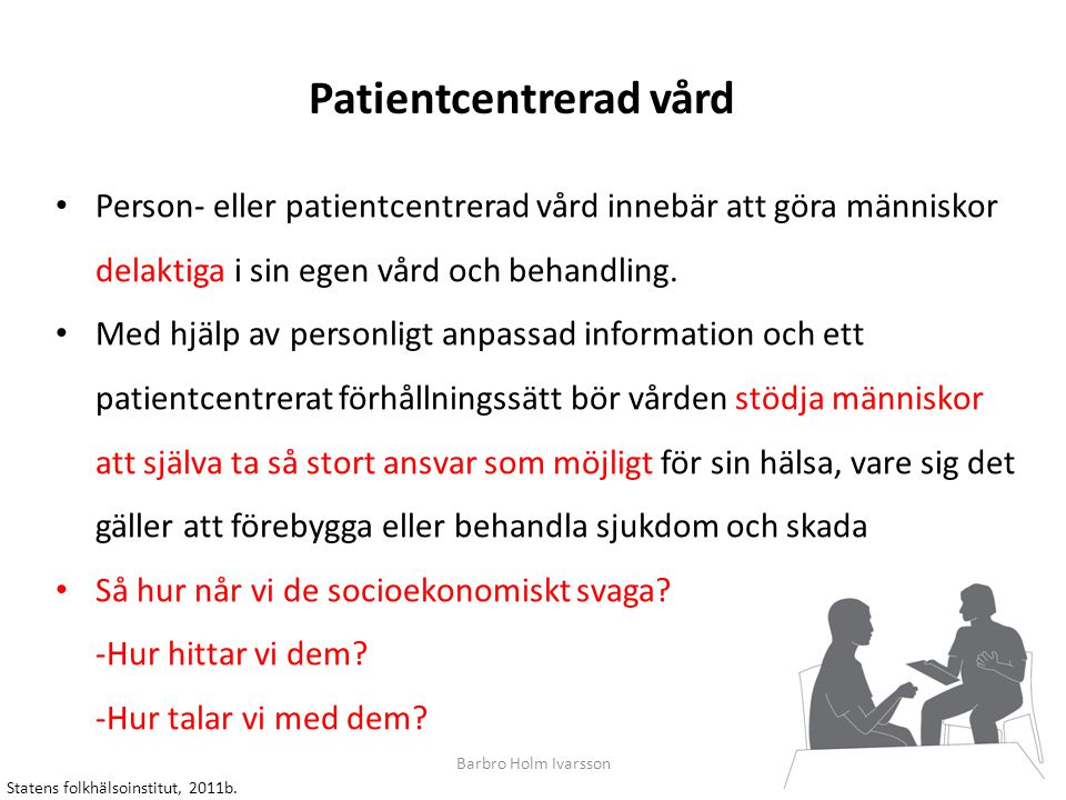 Patientcentrerad vård