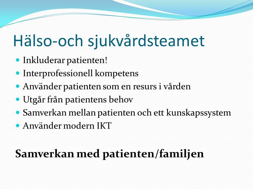 Hälso-och sjukvårdsteamet