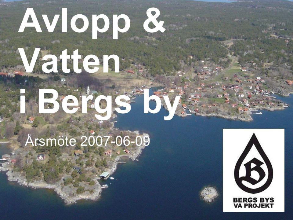 Avlopp & Vatten i Bergs by