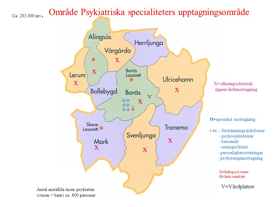 Område Psykiatriska specialiteters upptagningsområde