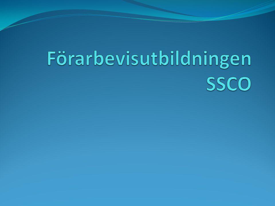 Förarbevisutbildningen SSCO