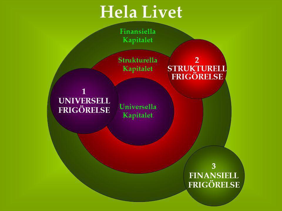 Hela Livet 2 STRUKTURELL FRIGÖRELSE 1 UNIVERSELL FRIGÖRELSE 3