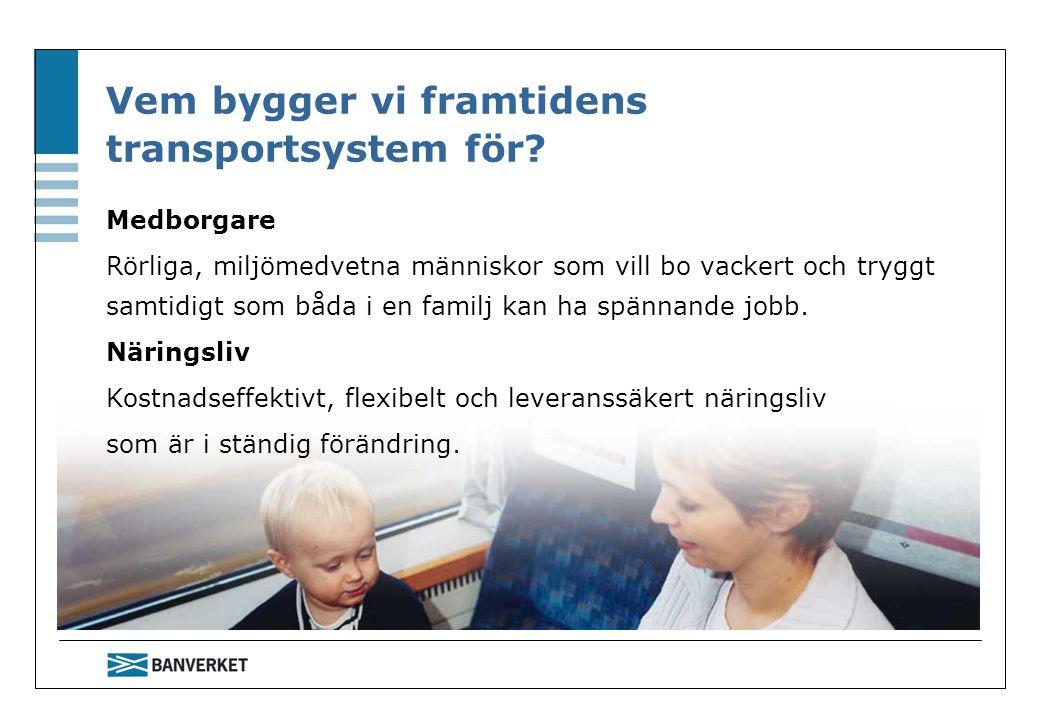 Vem bygger vi framtidens transportsystem för