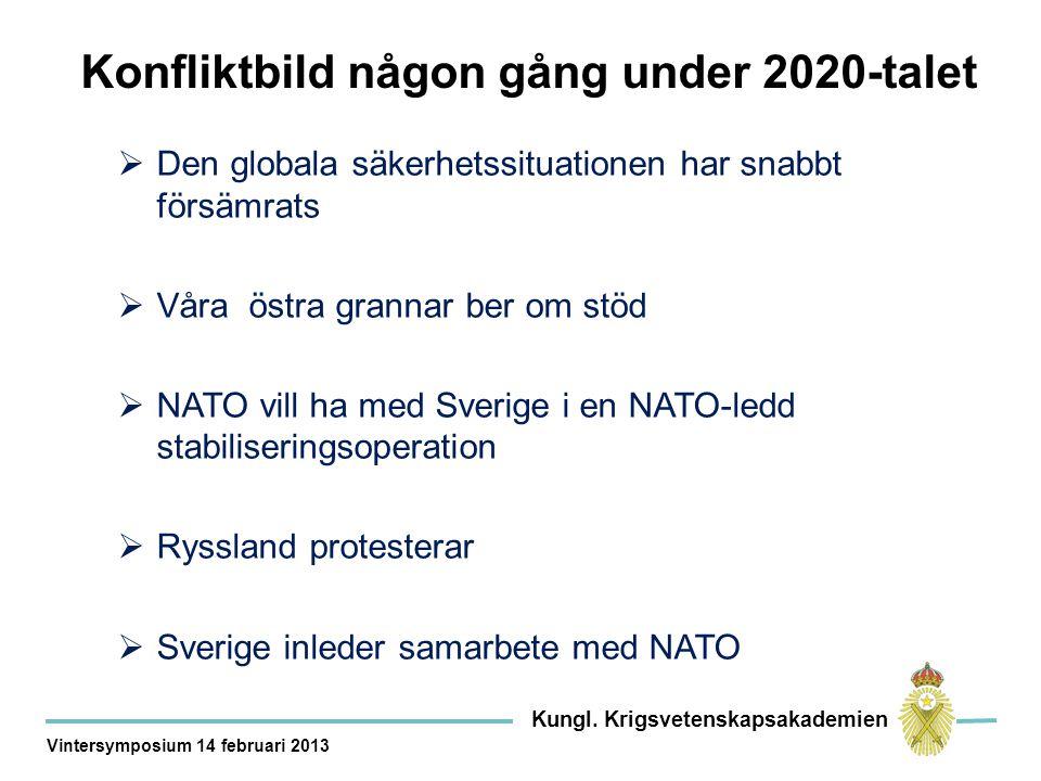 Konfliktbild någon gång under 2020-talet