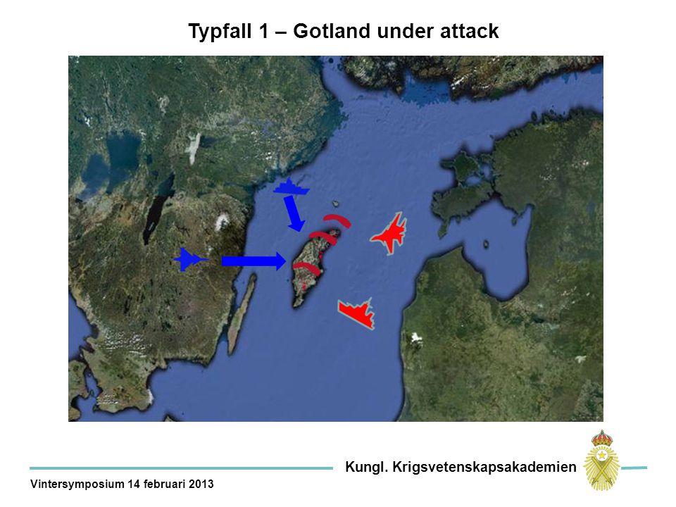 Typfall 1 – Gotland under attack