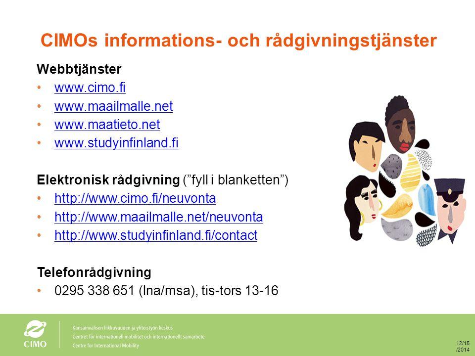 Ifall någon behöver engelskspråkigt material om vägledning i Finland