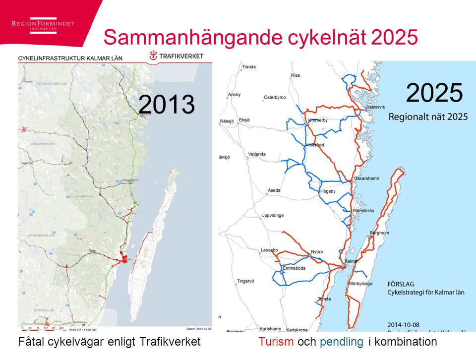 Sammanhängande cykelnät 2025