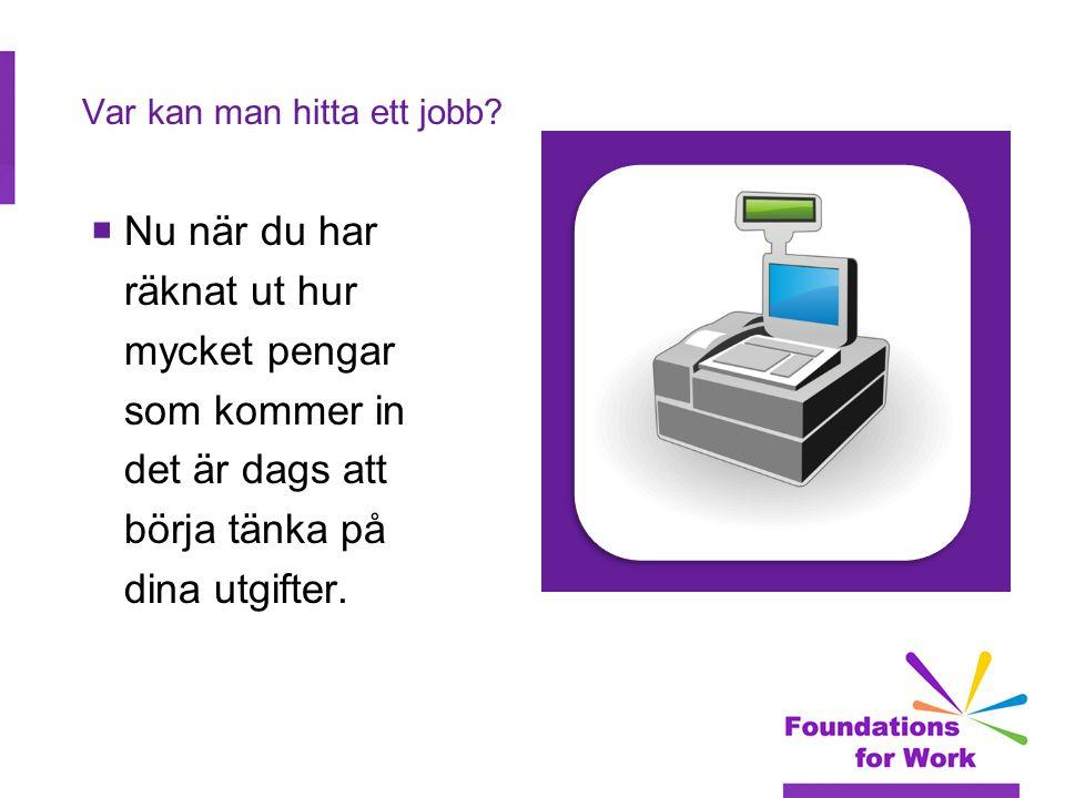 Var kan man hitta ett jobb