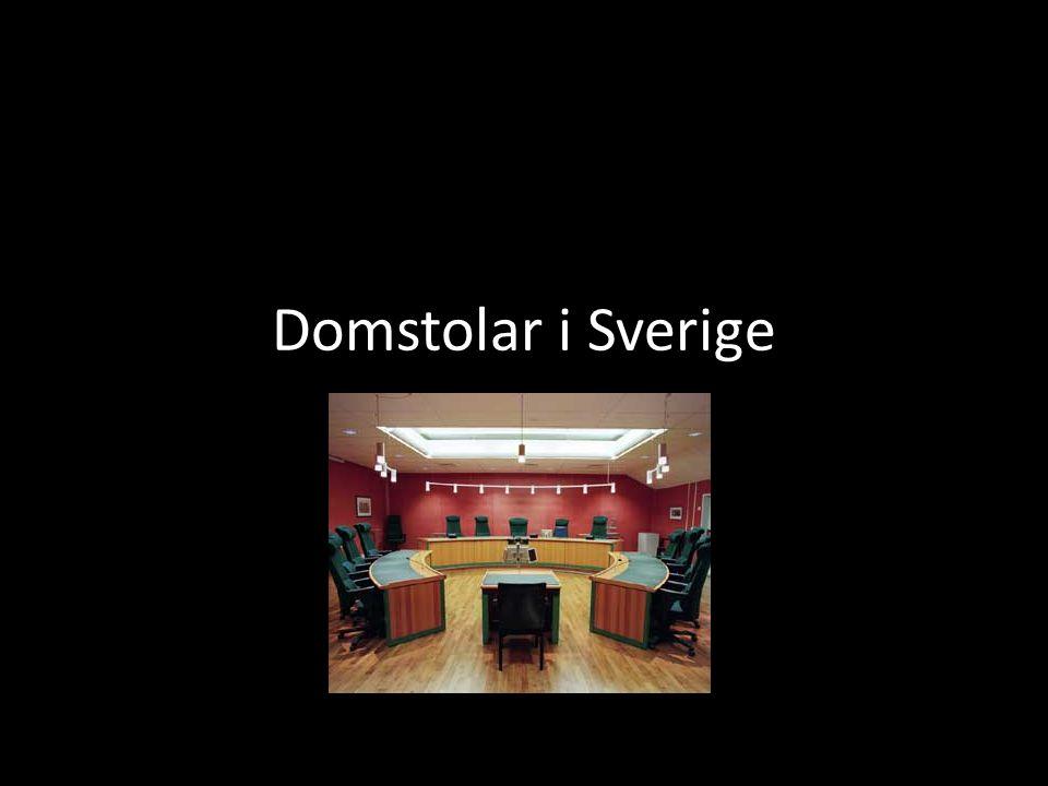 Domstolar i Sverige