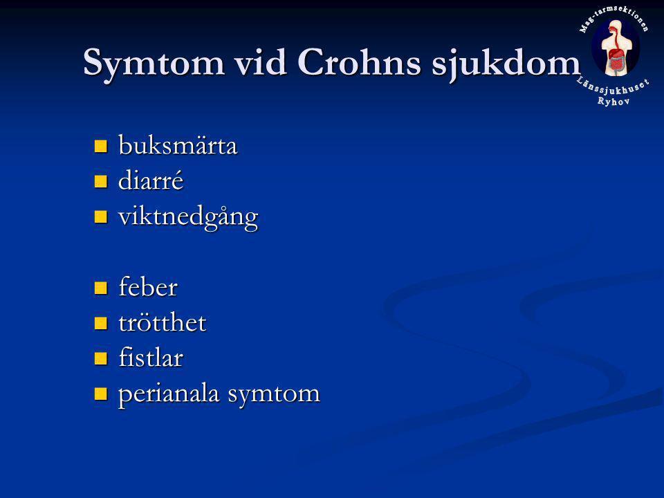 Symtom vid Crohns sjukdom