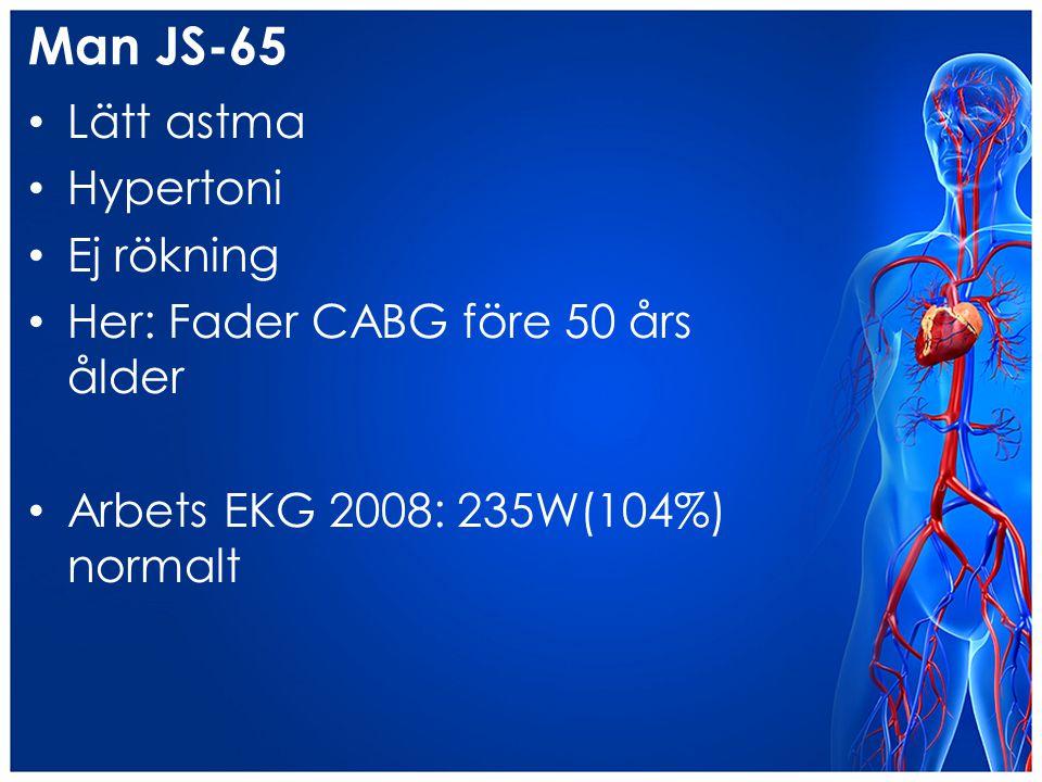 Man JS-65 Lätt astma Hypertoni Ej rökning