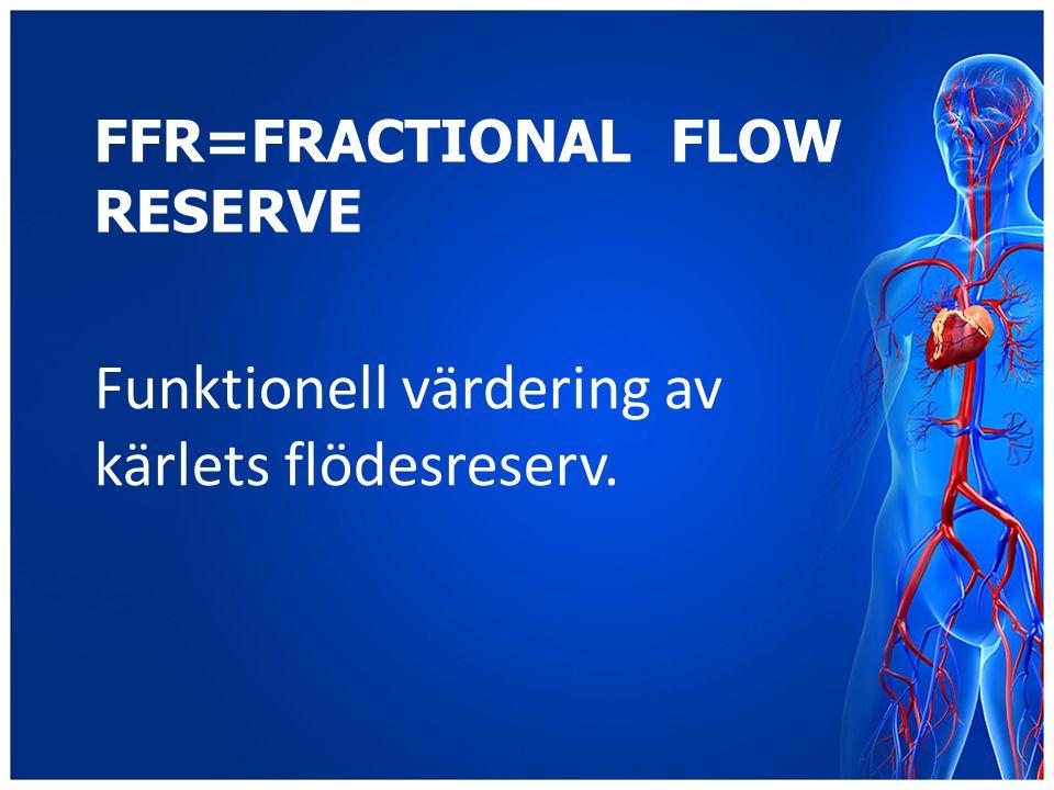 FFR=Fractional Flow Reserve