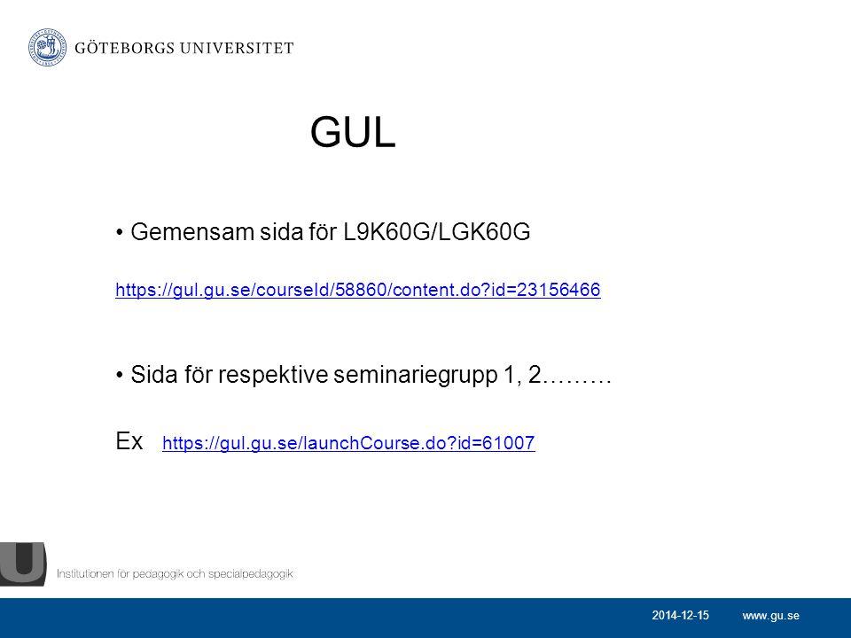 GUL Gemensam sida för L9K60G/LGK60G