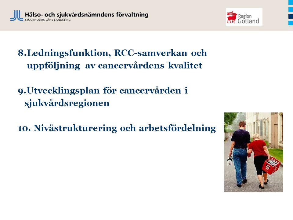 8.Ledningsfunktion, RCC-samverkan och