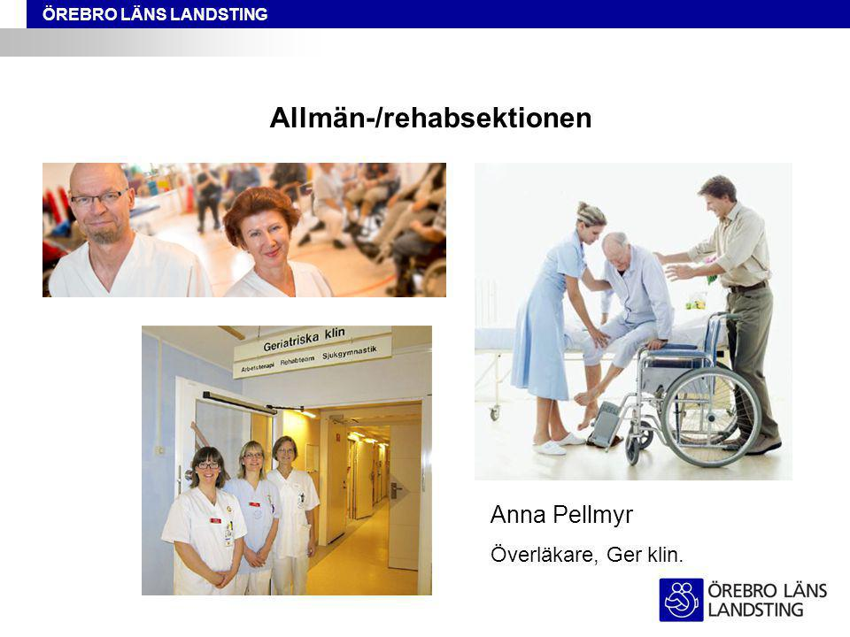 Allmän-/rehabsektionen
