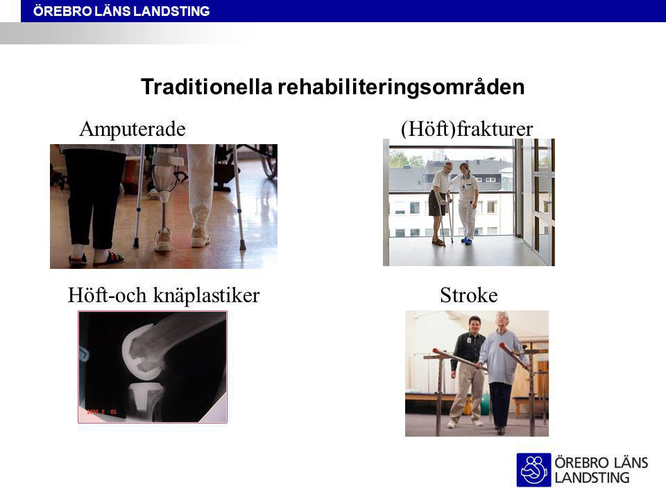 Traditionella rehabiliteringsområden