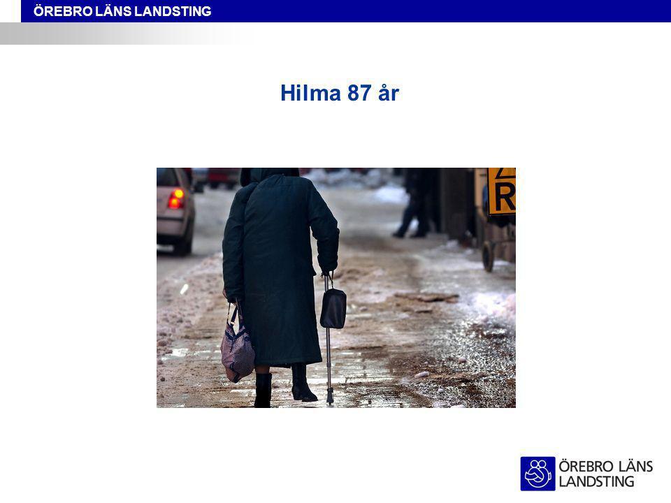 Hilma 87 år
