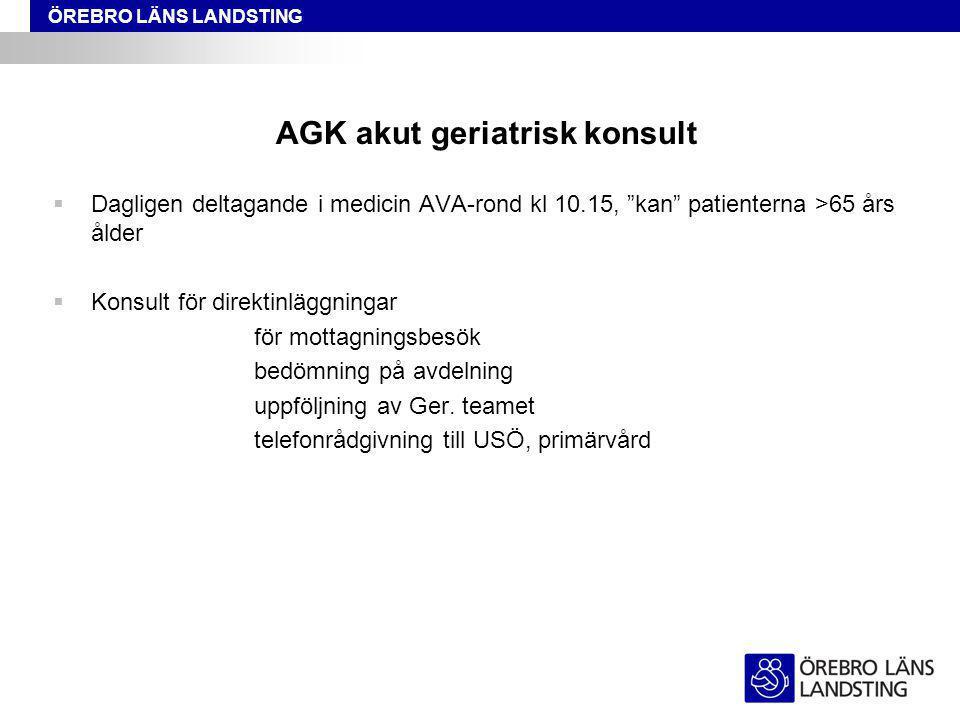 AGK akut geriatrisk konsult