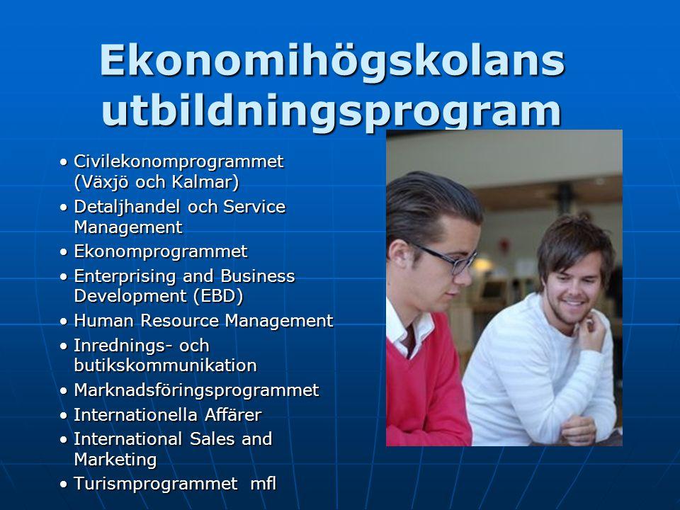 Ekonomihögskolans utbildningsprogram