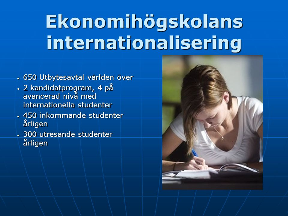Ekonomihögskolans internationalisering