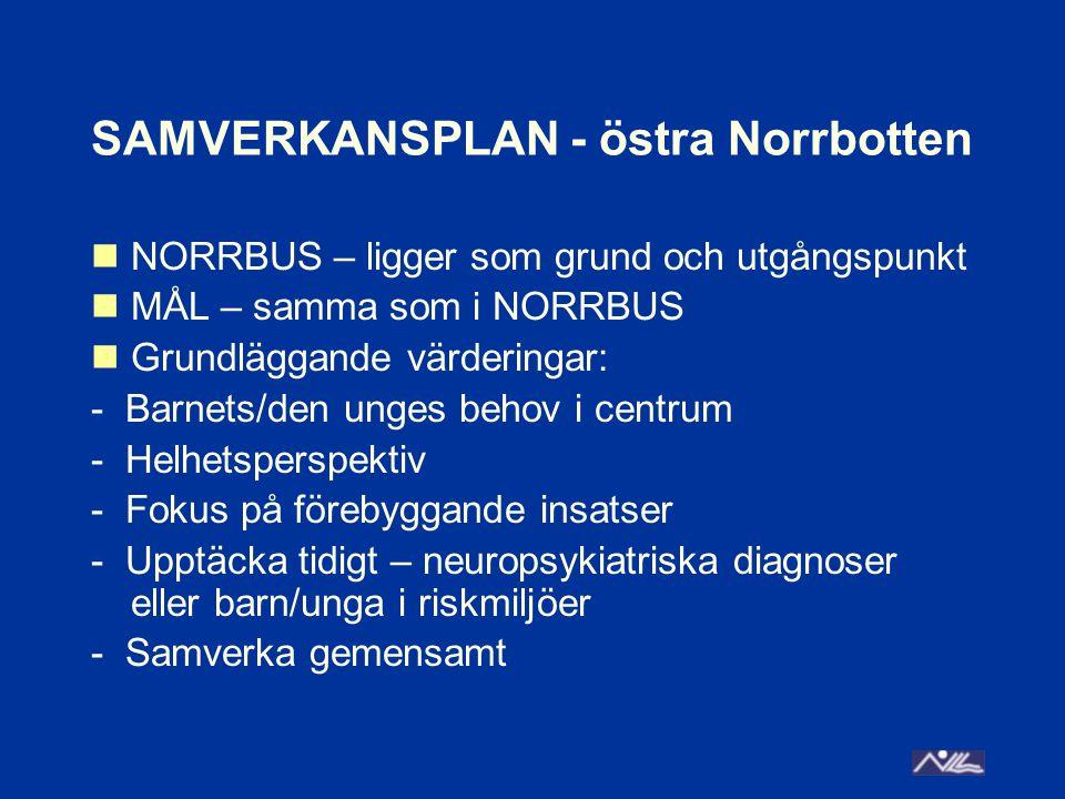 SAMVERKANSPLAN - östra Norrbotten