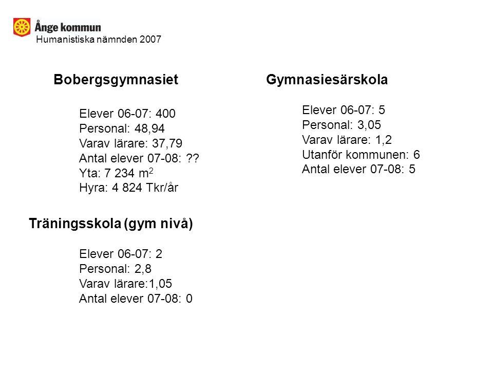 Träningsskola (gym nivå)