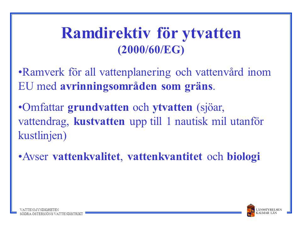 Ramdirektiv för ytvatten (2000/60/EG)