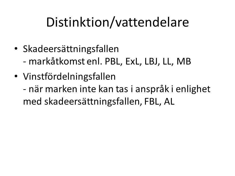 Distinktion/vattendelare