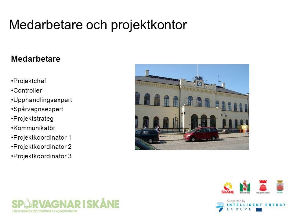 Medarbetare och projektkontor