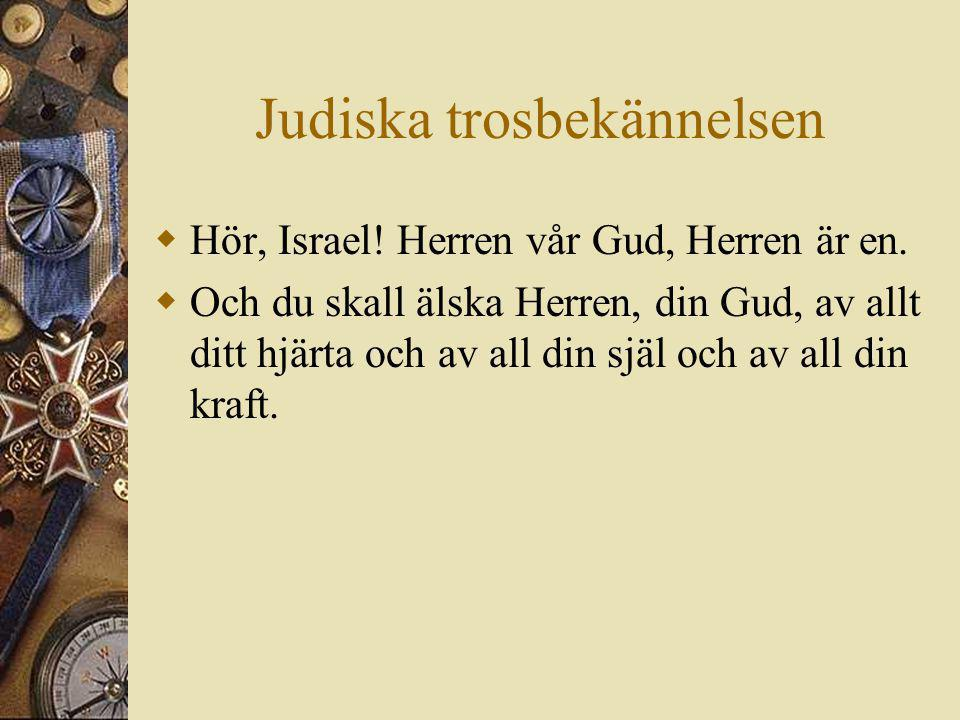 Judiska trosbekännelsen